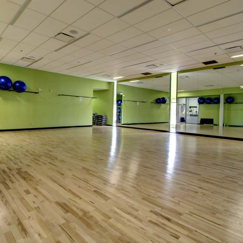 Fitness studio in YMCA of Owen Sound Grey Bruce Health, Fitness & Aquatics facility