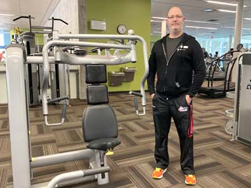 Michael Baerg Personal Trainer at the YMCA of Owen Sound Grey Bruce