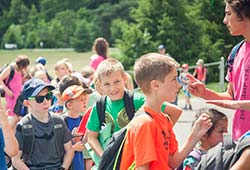 Group of Child at Summer Camp