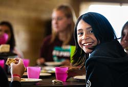 Young girl at March Break Camp