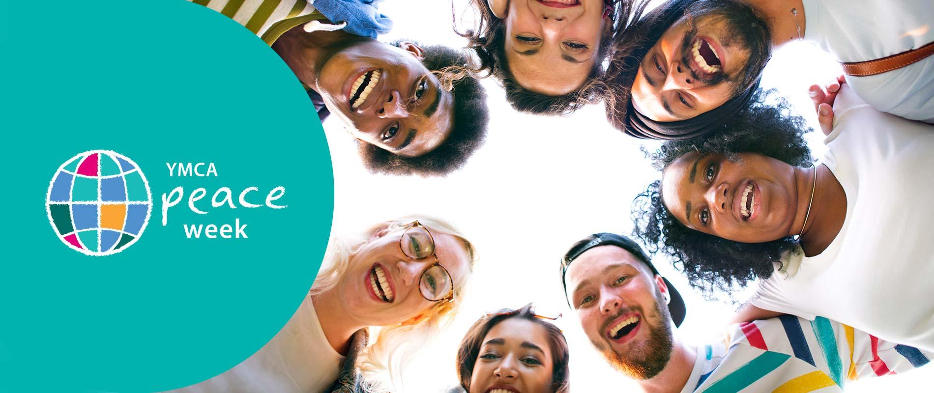 YMCA Peace Week group of people smiling