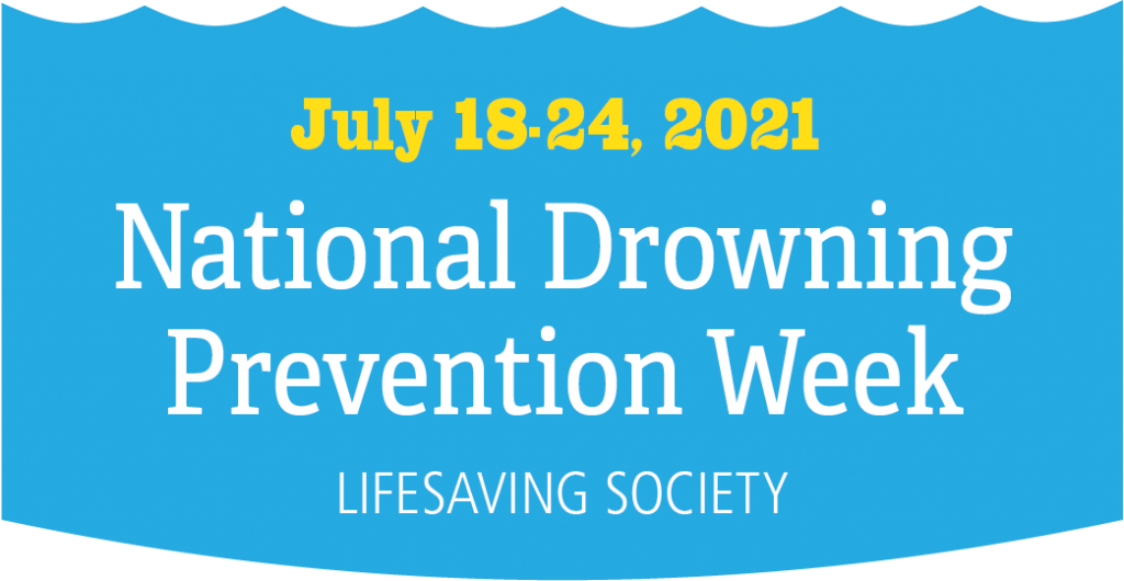 National Drowning Prevention Week logo